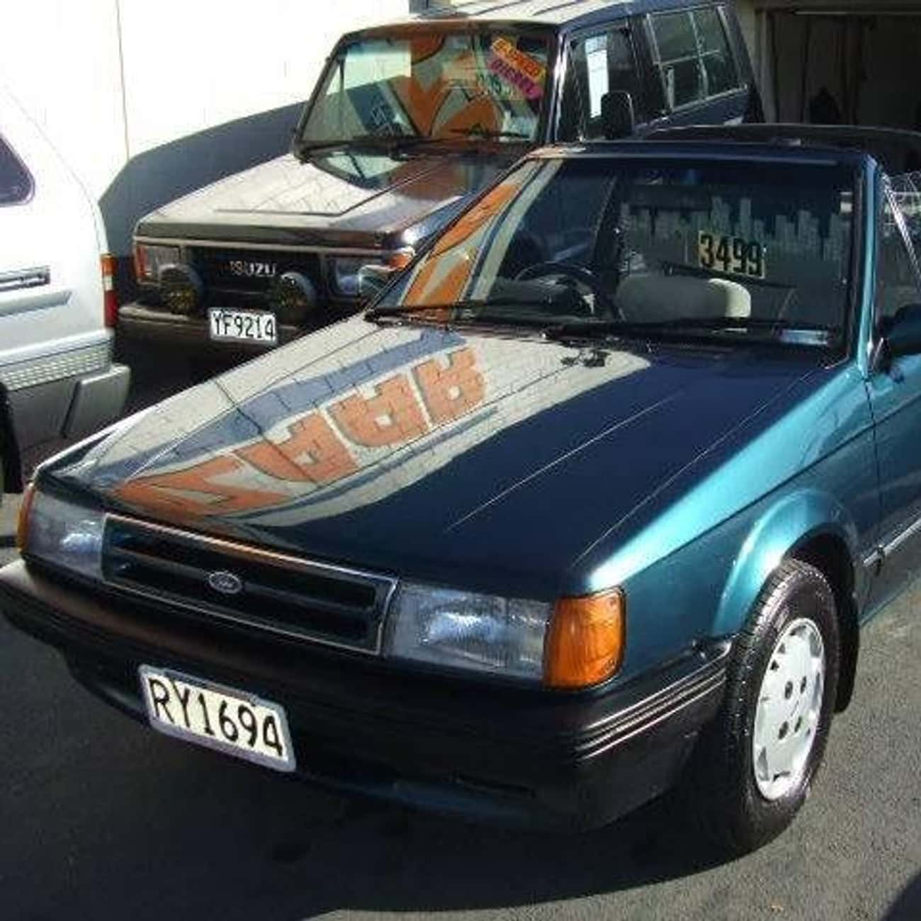 1987 Ford Laser Convertible is listed (or ranked) 3 on the list List of Popular Ford Lasers