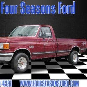 1991 Ford F150 Pickup 4WD on Random Best Ford F-Series