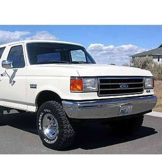 1990 Ford Bronco II SUV ... is listed (or ranked) 6 on the list List of 1990 Fords