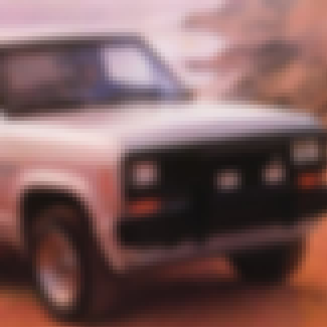 1988 Ford Bronco II SUV 2WD is listed (or ranked) 4 on the list List of 1988 Fords
