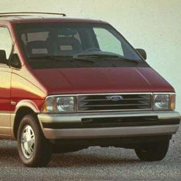 1992 Ford Aerostar Minivan AWD is listed (or ranked) 2 on the list List of 1992 Fords