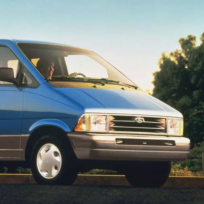 1992 Ford Aerostar Station Wag... is listed (or ranked) 4 on the list List of 1992 Fords