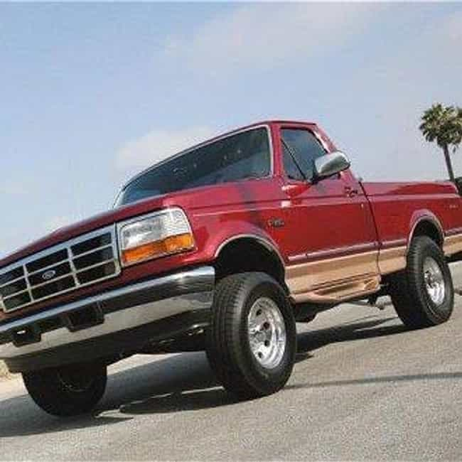 1995 Ford F150 Pickup 2W... is listed (or ranked) 4 on the list The Best Ford F-Series of All Time