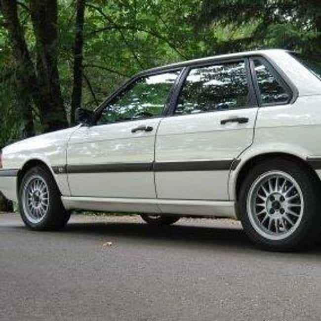 1985 Audi 4000s Sedan Quattro is listed (or ranked) 2 on the list List of All Cars Made in 1985