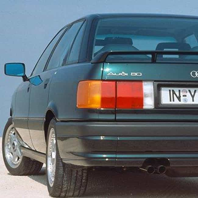 1989 Audi 80 Coupe Quatt... is listed (or ranked) 1 on the list List of Popular Audi 80s