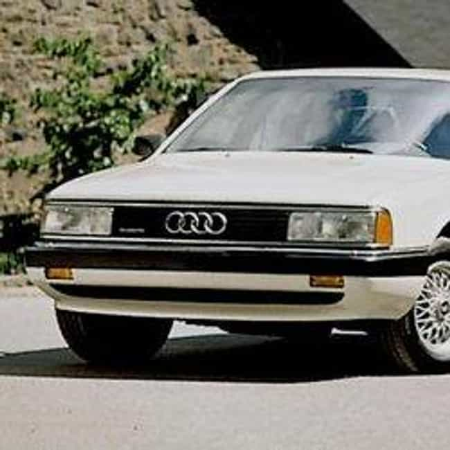 1990 Audi 100 Sedan Quattro is listed (or ranked) 3 on the list List of All Cars Made in 1990