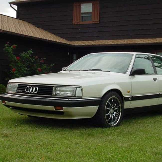 1991 Audi 200 Sedan is listed (or ranked) 3 on the list List of All Cars Made in 1991
