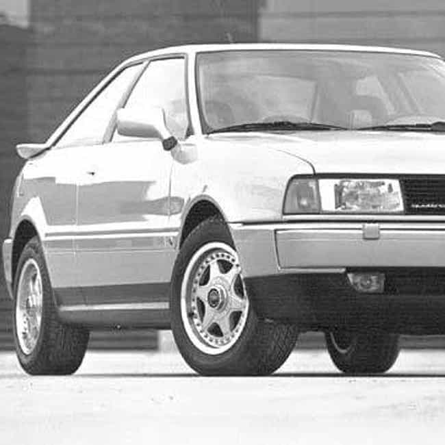 1990 Audi 80 Coupé... is listed (or ranked) 3 on the list List of Popular Audi 80s