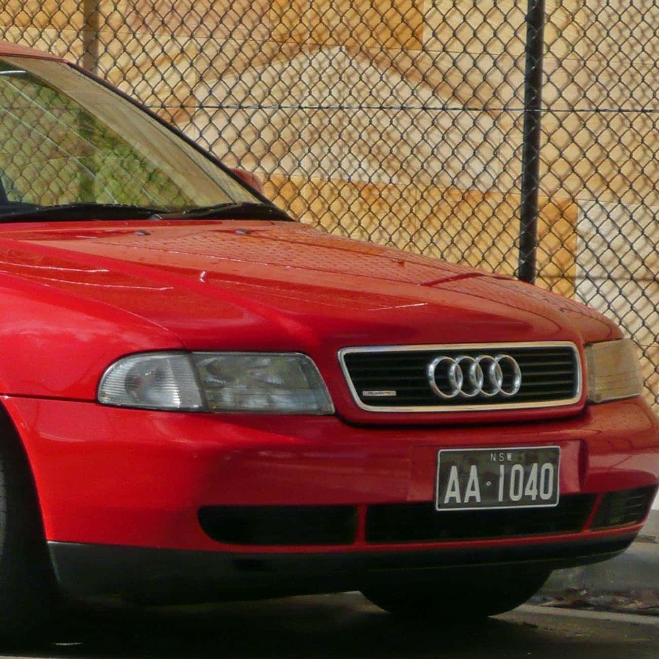 1996 Audi A4 Sedan is listed (or ranked) 3 on the list List of All Cars Made in 1996