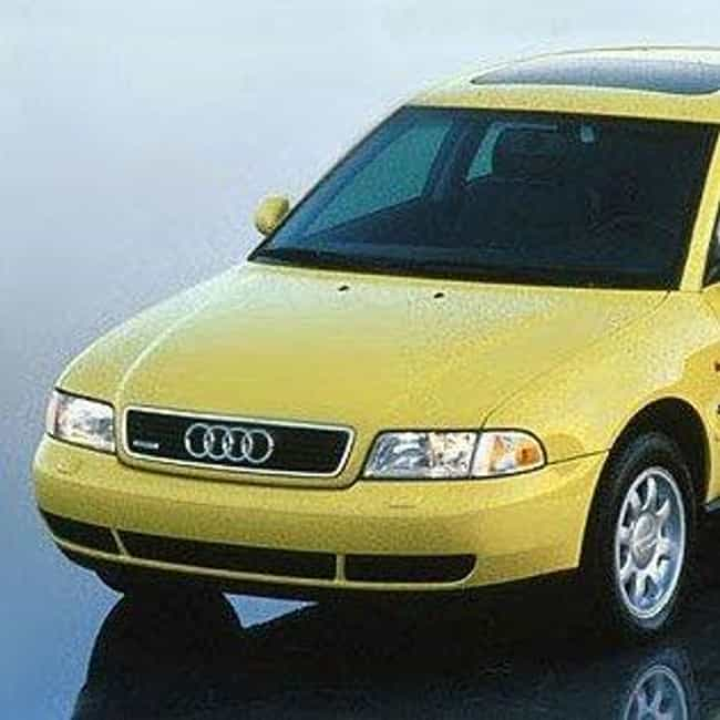 1997 Audi A4 Sedan is listed (or ranked) 2 on the list List of All Cars Made in 1997