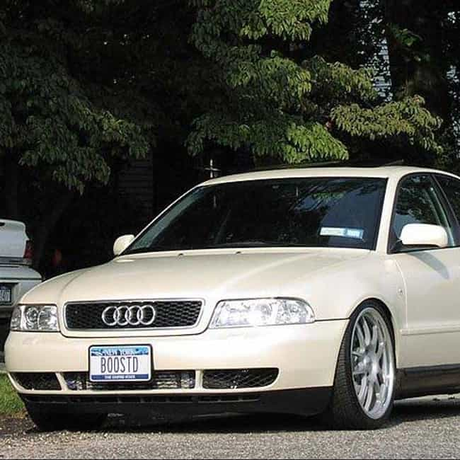 1998 Audi A4 Sedan is listed (or ranked) 1 on the list List of All Cars Made in 1998