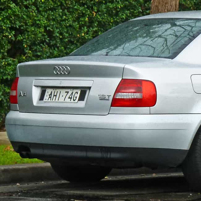 1999 Audi A4 Sedan is listed (or ranked) 2 on the list List of All Cars Made in 1999