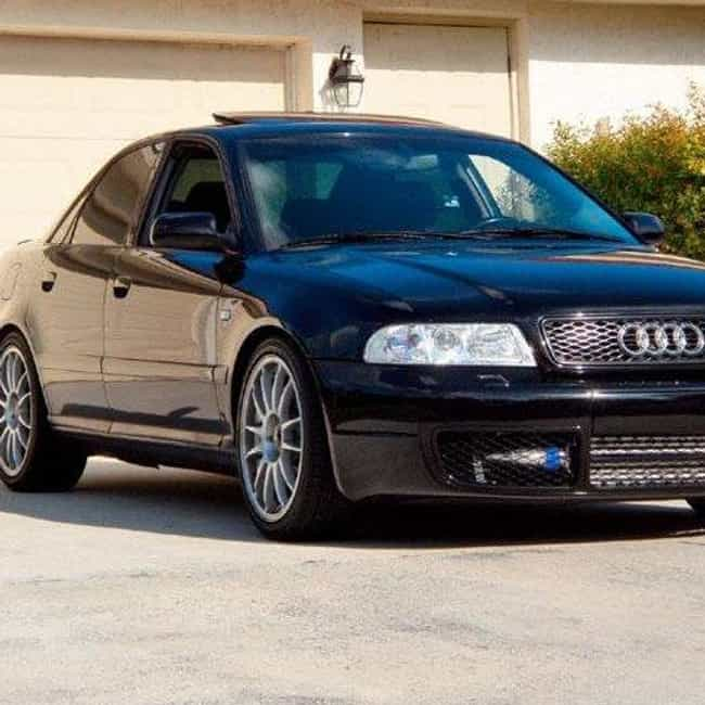 2000 Audi A4 Sedan is listed (or ranked) 1 on the list List of All Cars Made in 2000
