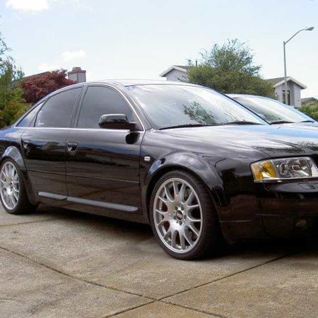 2000 Audi A6 Sedan is listed (or ranked) 3 on the list List of All Cars Made in 2000