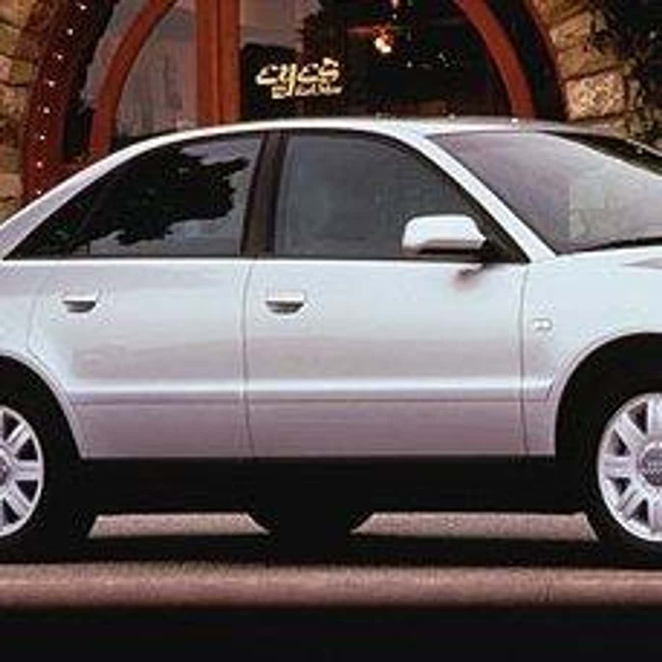 2001 Audi A4 Sedan is listed (or ranked) 2 on the list List of All Cars Made in 2001
