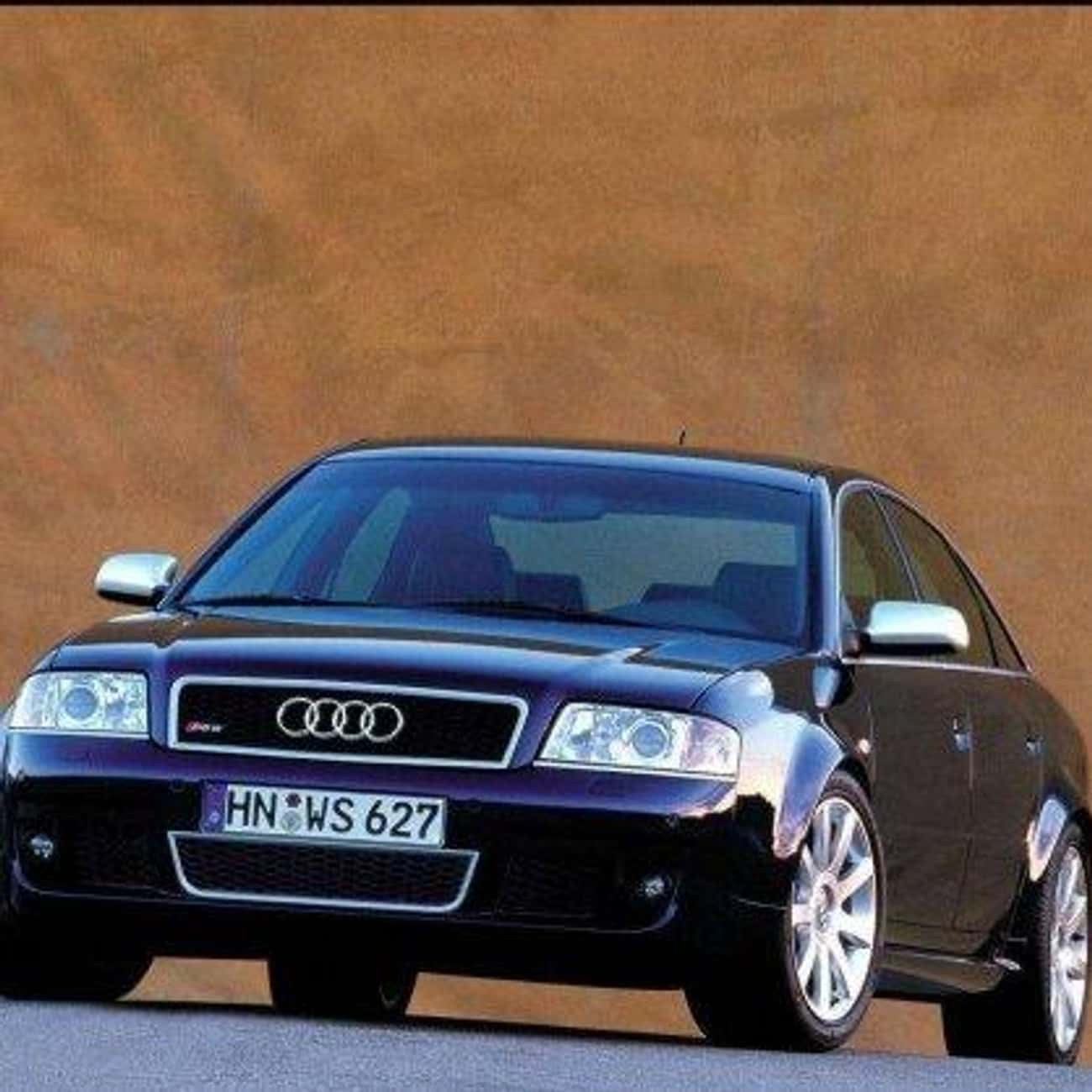 2002 Audi A6 Sedan is listed (or ranked) 4 on the list List of All Cars Made in 2002