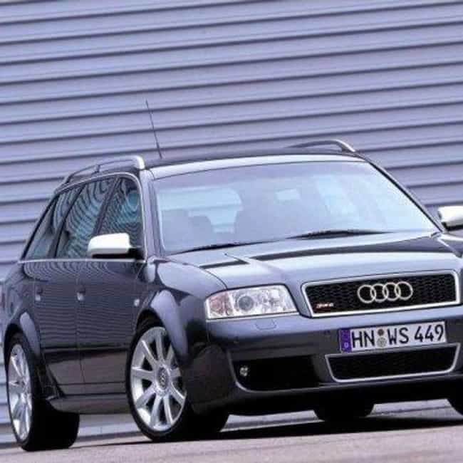 2002 Audi A6 Station Wag... is listed (or ranked) 6 on the list List of All Cars Made in 2002