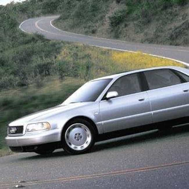 2002 Audi A8 Sedan is listed (or ranked) 7 on the list List of All Cars Made in 2002