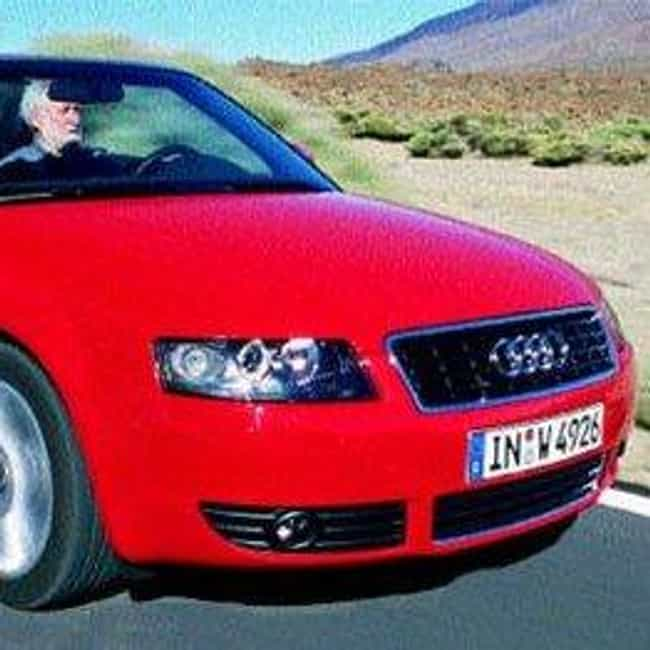 2003 Audi A4 Convertible... is listed (or ranked) 2 on the list List of All Cars Made in 2003