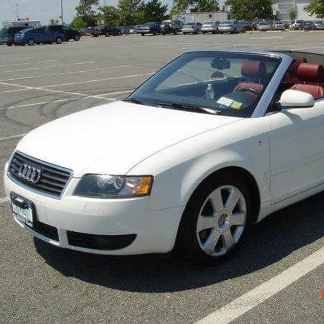 2004 Audi A4 Convertible... is listed (or ranked) 4 on the list List of All Cars Made in 2004