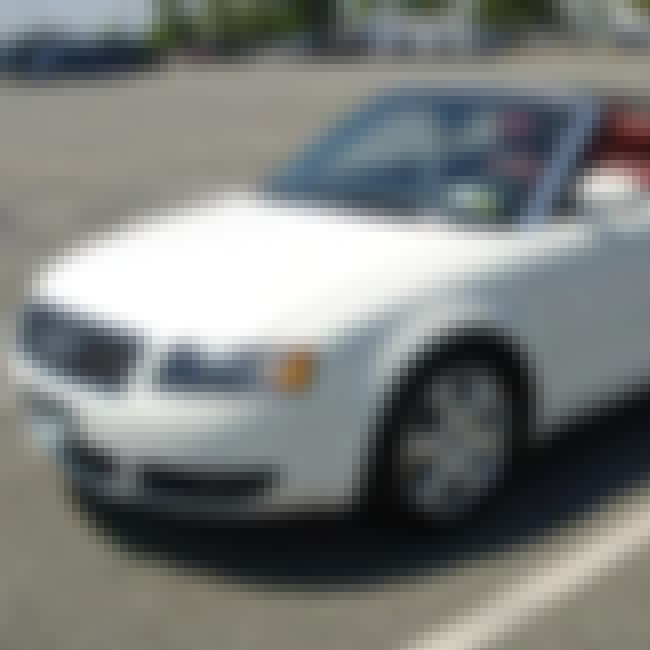 2004 Audi A4 Convertible is listed (or ranked) 3 on the list List of All Cars Made in 2004