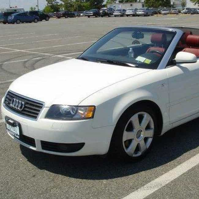 2004 Audi A4 Convertible... is listed (or ranked) 3 on the list List of All Cars Made in 2004