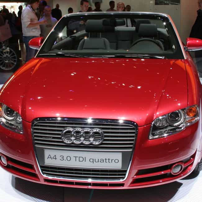 2005 Audi A4 Convertible... is listed (or ranked) 4 on the list List of All Cars Made in 2005