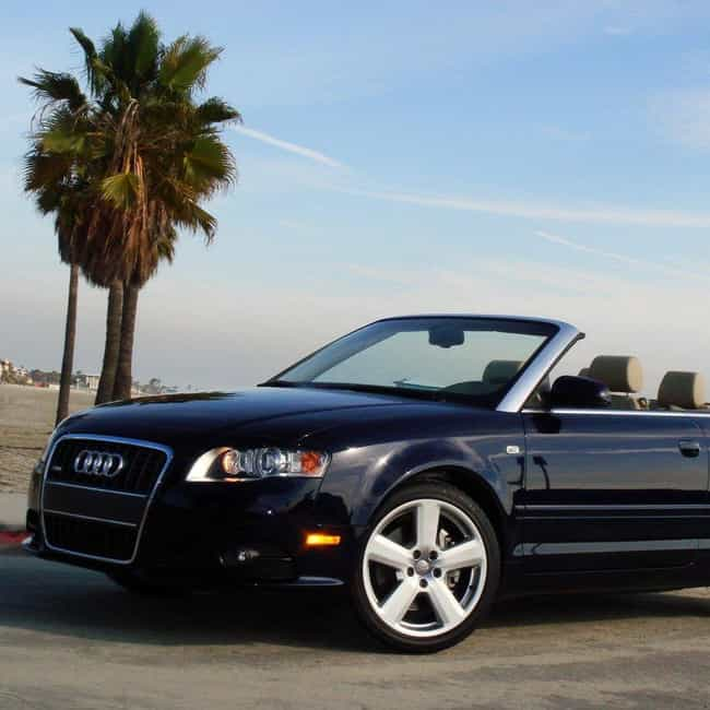 2005 Audi A4 Convertible... is listed (or ranked) 3 on the list List of All Cars Made in 2005