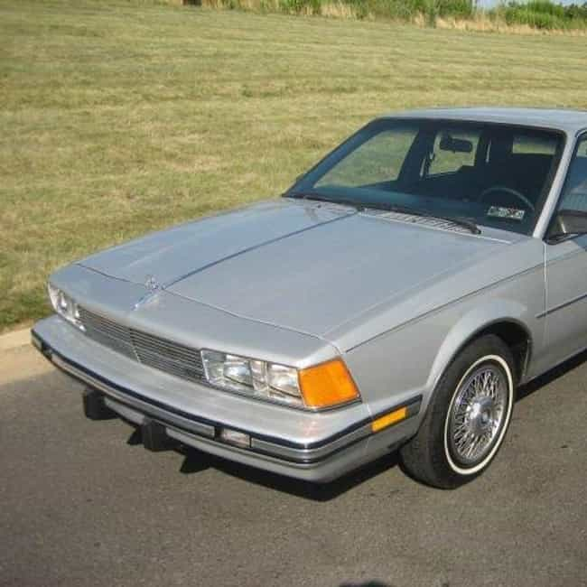1987 Buick Century Sedan... is listed (or ranked) 2 on the list List of 1987 Buicks
