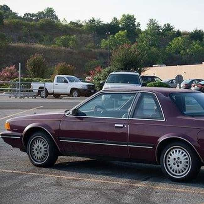1988 Buick Century Coupé is listed (or ranked) 1 on the list List of 1988 Buicks