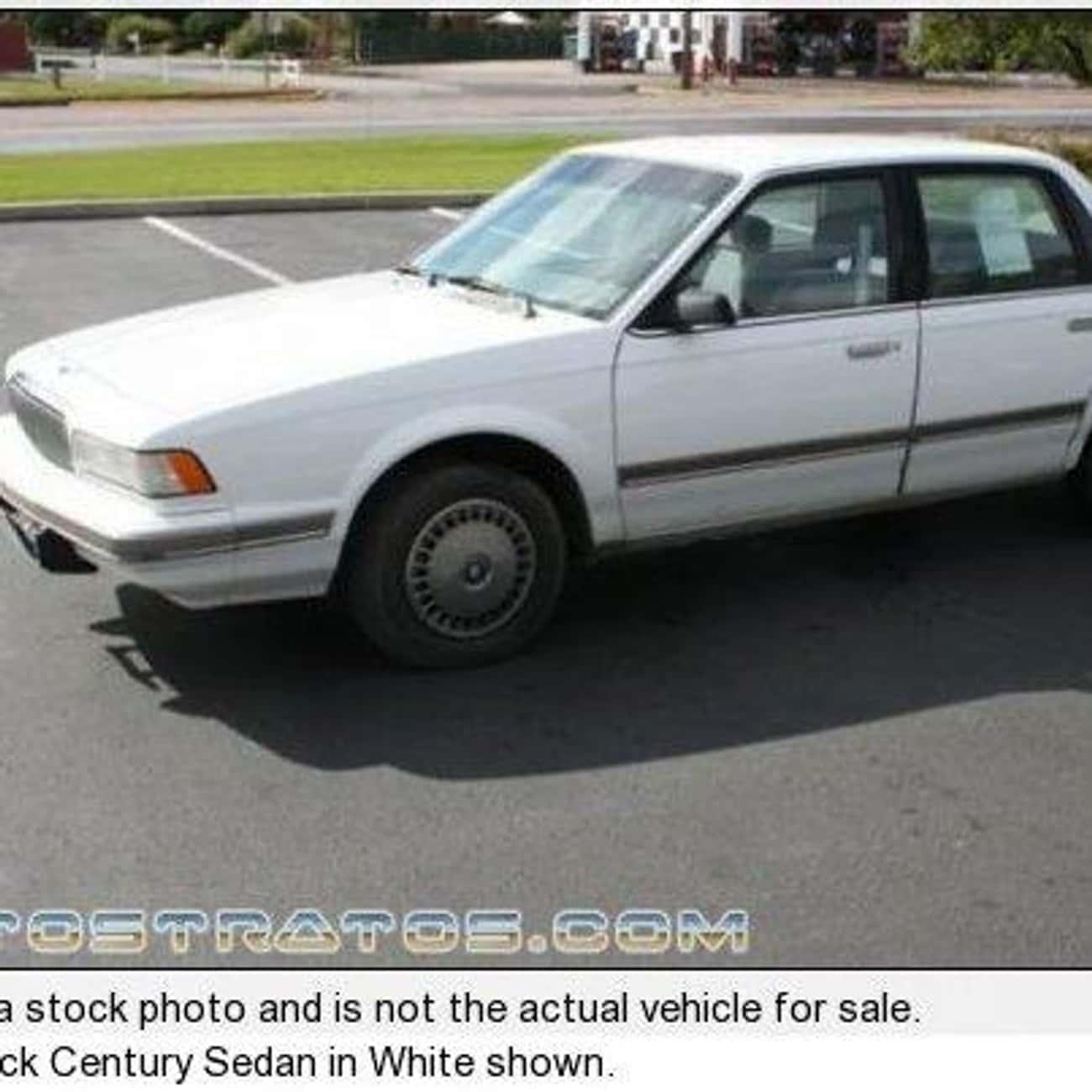 1989 Buick Century Sedan is listed (or ranked) 2 on the list List of 1989 Buicks