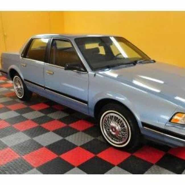 1992 Buick Century Coupé is listed (or ranked) 1 on the list List of 1992 Buicks