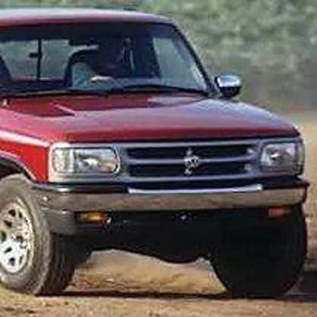 1996 Mazda B3000 Pickup 2WD is listed (or ranked) 4 on the list List of 1996 Mazdas