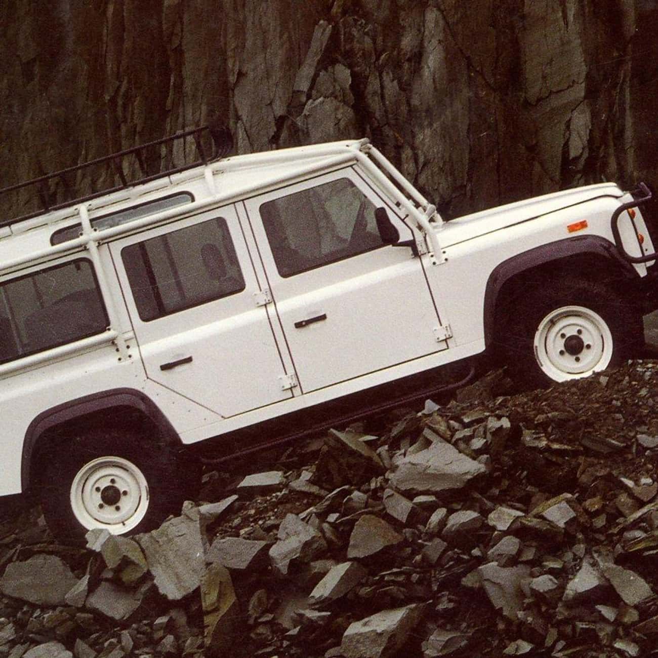1993 Land Rover Defender 110 P is listed (or ranked) 4 on the list The Best Land Rover Defenders of All Time
