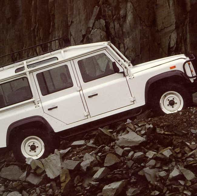 1993 Land Rover Defender 110 P... is listed (or ranked) 4 on the list The Best Land Rover Defenders of All Time