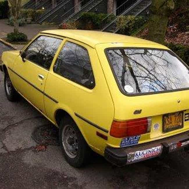 1986 Mazda GLC Hatchback is listed (or ranked) 3 on the list List of Popular Mazda Familias