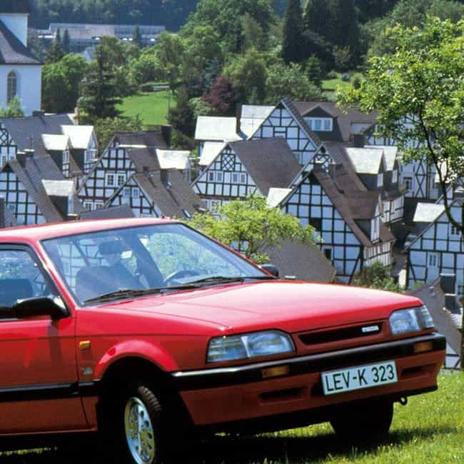 1987 Mazda 323 Station Wagon is listed (or ranked) 3 on the list List of 1987 Mazdas