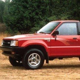 1992 Mazda B2600i Pickup truck on Random Best Mazda B-Seriess