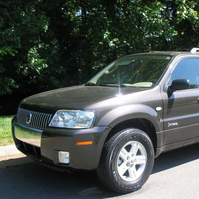 2006 Mercury Mariner Hybrid Is Listed Or Ranked 3 On The List Of