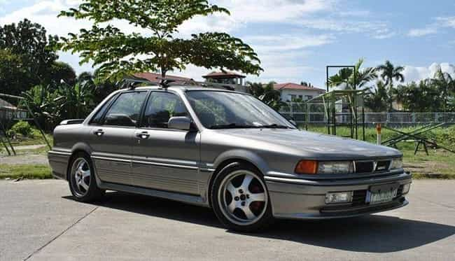 1991 Mitsubishi Galant S... is listed (or ranked) 4 on the list List of 1991 Mitsubishis