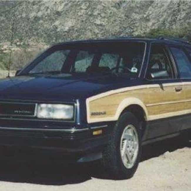 1988 Pontiac 6000 Statio... is listed (or ranked) 3 on the list List of 1988 Pontiacs
