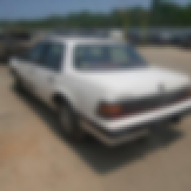 1990 Pontiac 6000 Sedan is listed (or ranked) 1 on the list List of 1990 Pontiacs