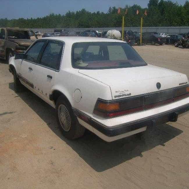 1990 Pontiac 6000 Sedan ... is listed (or ranked) 1 on the list List of 1990 Pontiacs