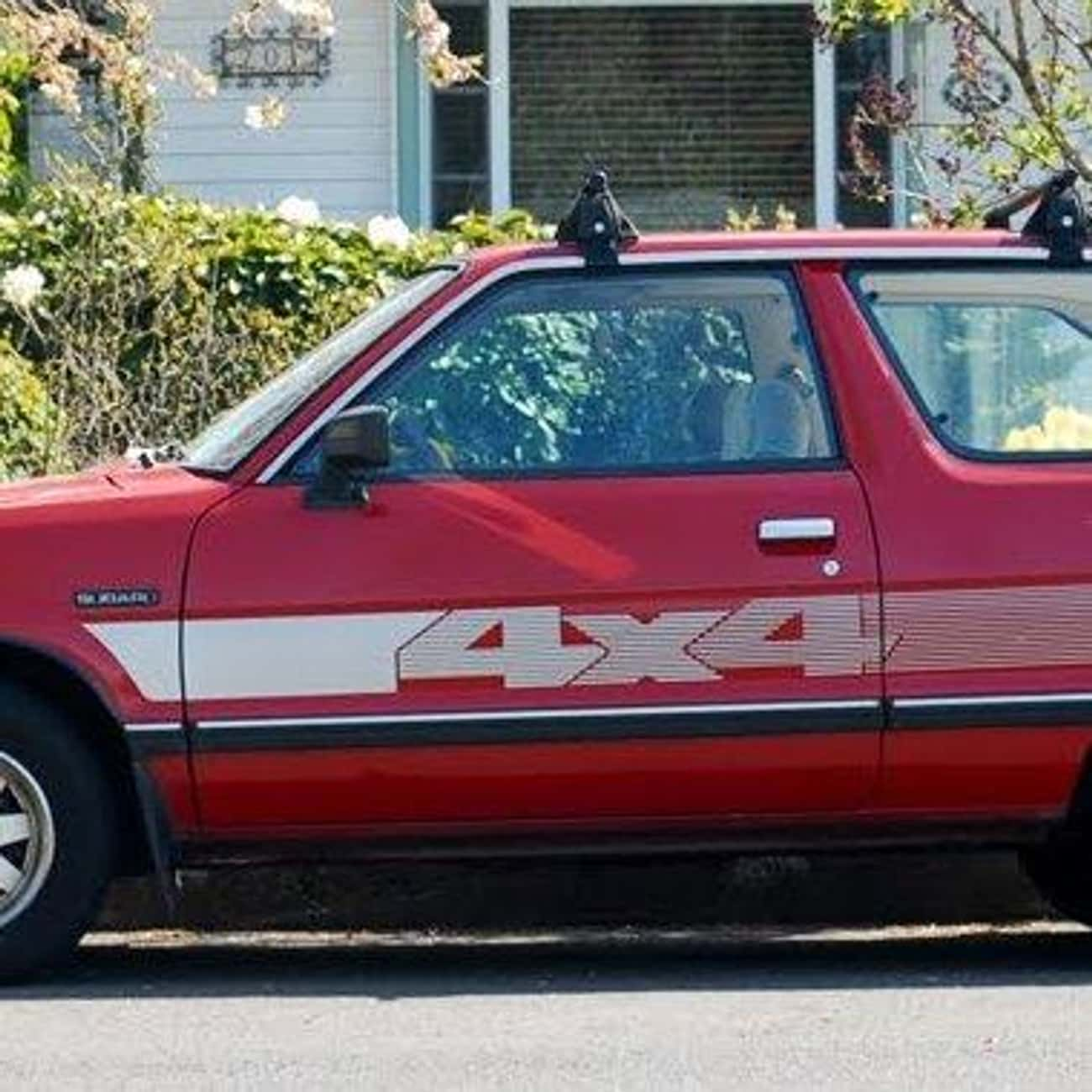 1985 Subaru Hatchback Hatchbac is listed (or ranked) 3 on the list List of 1985 Subarus