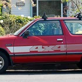 1985 Subaru Hatchback Hatchback 4WD
