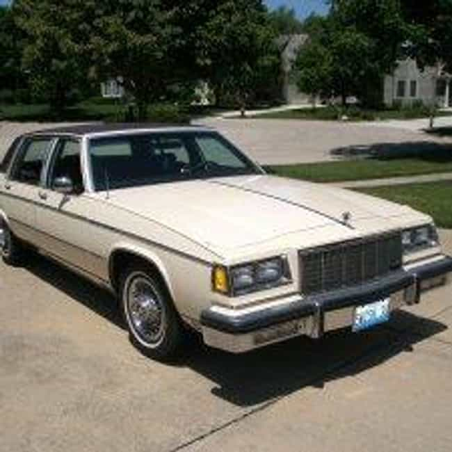 1984 Buick Electra Sedan is listed (or ranked) 4 on the list List of All Cars Made in 1984