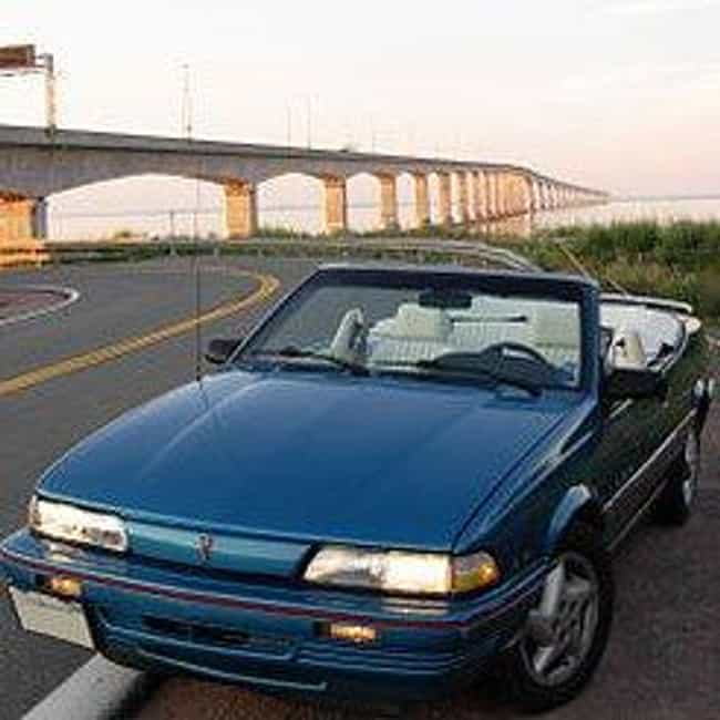 1984 Pontiac Sunbird Convertib... is listed (or ranked) 1 on the list List of Popular Pontiac Sunbirds