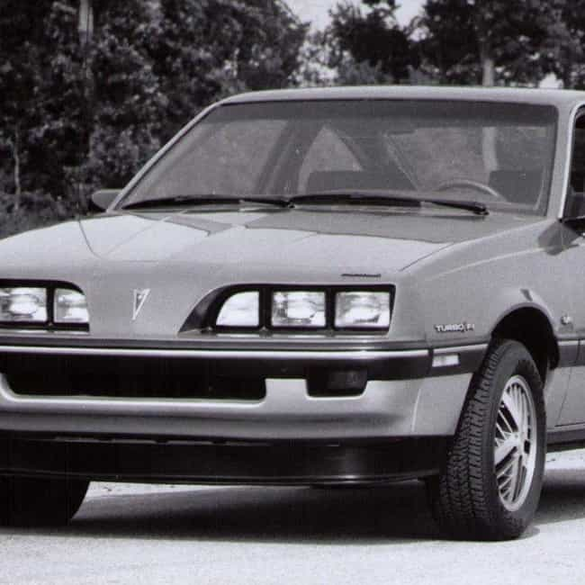 1984 Pontiac Sunbird Sedan is listed (or ranked) 3 on the list List of Popular Pontiac Sunbirds