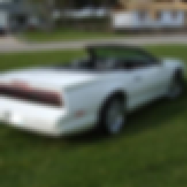 1992 Pontiac Firebird Trans Am... is listed (or ranked) 4 on the list List of 1992 Pontiacs