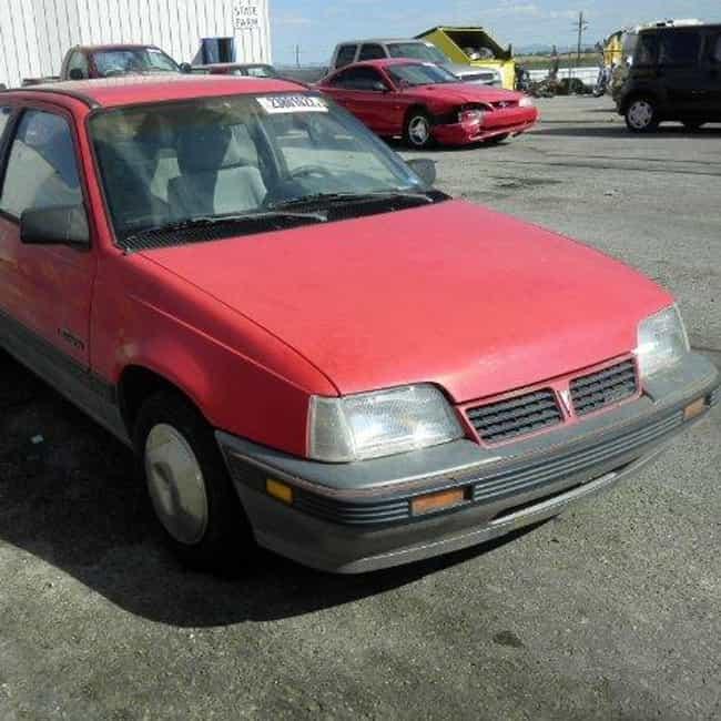 1989 Pontiac LeMans Hatc... is listed (or ranked) 3 on the list List of Popular Pontiac LeManss